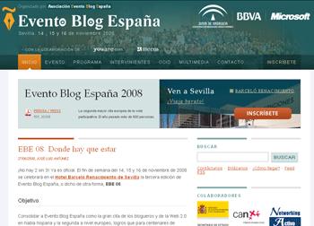 Evento bloguero en noviembre en España